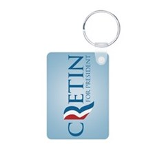 Romney Parody Cretin Keychains
