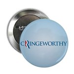 "Romney Parody Cringeworthy 2.25"" Button (10 pack)"