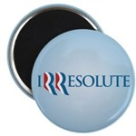 "Romney Parody Irresolute 2.25"" Magnet (10 pack)"