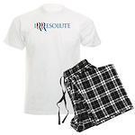 Romney Parody Irresolute Men's Light Pajamas