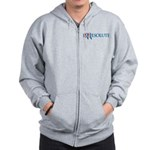 Romney Parody Irresolute Zip Hoodie