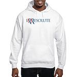 Romney Parody Irresolute Hooded Sweatshirt