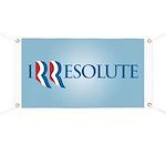 Romney Parody Irresolute Banner