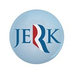"Romney Parody Jerk 3.5"" Button (100 pack)"
