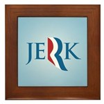 Romney Parody Jerk Framed Tile