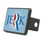 Romney Parody Jerk Rectangular Hitch Cover