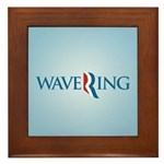 Romney Parody Wavering Framed Tile