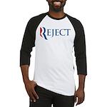 Romney Parody Reject Baseball Jersey