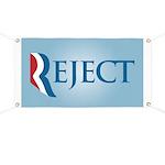 Romney Parody Reject Banner