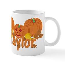 Halloween Pumpkin Taylor Mug