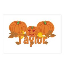 Halloween Pumpkin Taylor Postcards (Package of 8)
