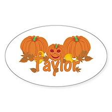 Halloween Pumpkin Taylor Decal
