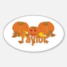 Halloween Pumpkin Taylor Decal