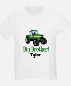 Big Brother Tractor Shirt - Tyler T-Shirt