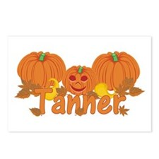 Halloween Pumpkin Tanner Postcards (Package of 8)