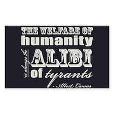 The Alibi of Tyrants Decal