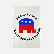 Tennessee Republican Pride Rectangle Magnet