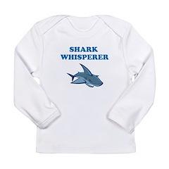 Shark Whisperer Long Sleeve Infant T-Shirt