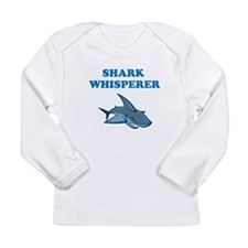 Shark Whisperer Long Sleeve Infant T-Shirt
