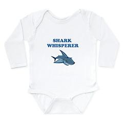 Shark Whisperer Long Sleeve Infant Bodysuit
