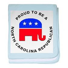 North Carolina Republican Pride baby blanket