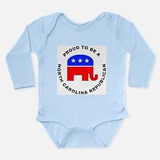 North Carolina Republican Pride Long Sleeve Infant
