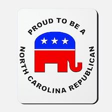 North Carolina Republican Pride Mousepad