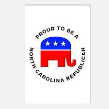 North Carolina Republican Pride Postcards (Package