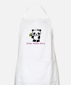 Personalized Panda Apron