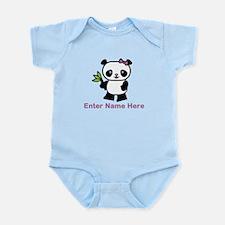 Personalized Panda Onesie