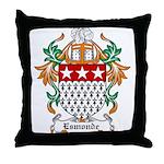 Esmonde Coat of Arms Throw Pillow