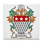 Esmonde Coat of Arms Tile Coaster