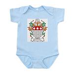 Esmonde Coat of Arms Infant Creeper