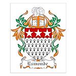 Esmonde Coat of Arms Small Poster