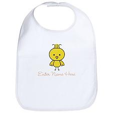 Personalized Baby Chick Bib