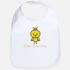 Personalized Baby Chick Bib