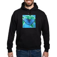 Blue Morpho Hoodie