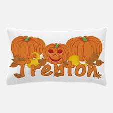 Halloween Pumpkin Trenton Pillow Case