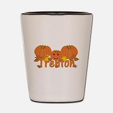 Halloween Pumpkin Trenton Shot Glass