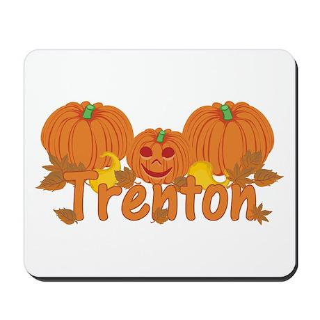 Halloween Pumpkin Trenton Mousepad