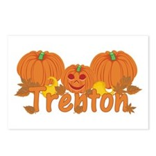 Halloween Pumpkin Trenton Postcards (Package of 8)