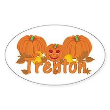 Halloween Pumpkin Trenton Decal