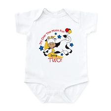 Cow Over Moon 2nd Birthday Infant Bodysuit