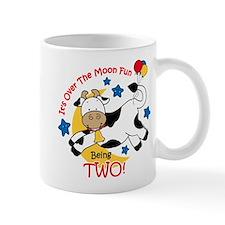 Cow Over Moon 2nd Birthday Mug