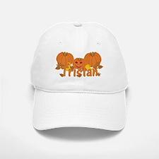 Halloween Pumpkin Tristan Baseball Baseball Cap