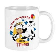 Cow Over Moon 3rd Birthday Mug