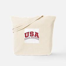 USA Field Hockey Tote Bag