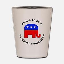 Missouri Republican Pride Shot Glass