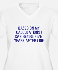 Based on calculations retire T-Shirt