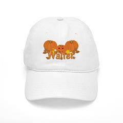Halloween Pumpkin Walter Baseball Cap